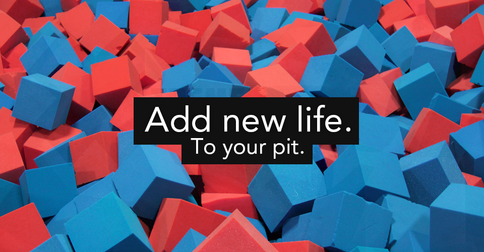 Add New Life To Your Gym Pit Foam