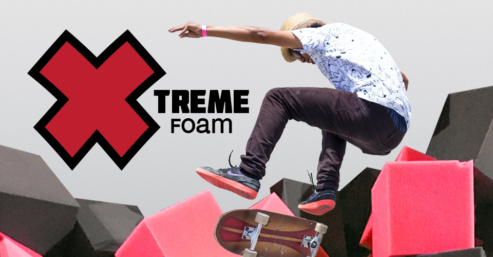 Extreme Sports Pit Foam for BMX or Skateboards